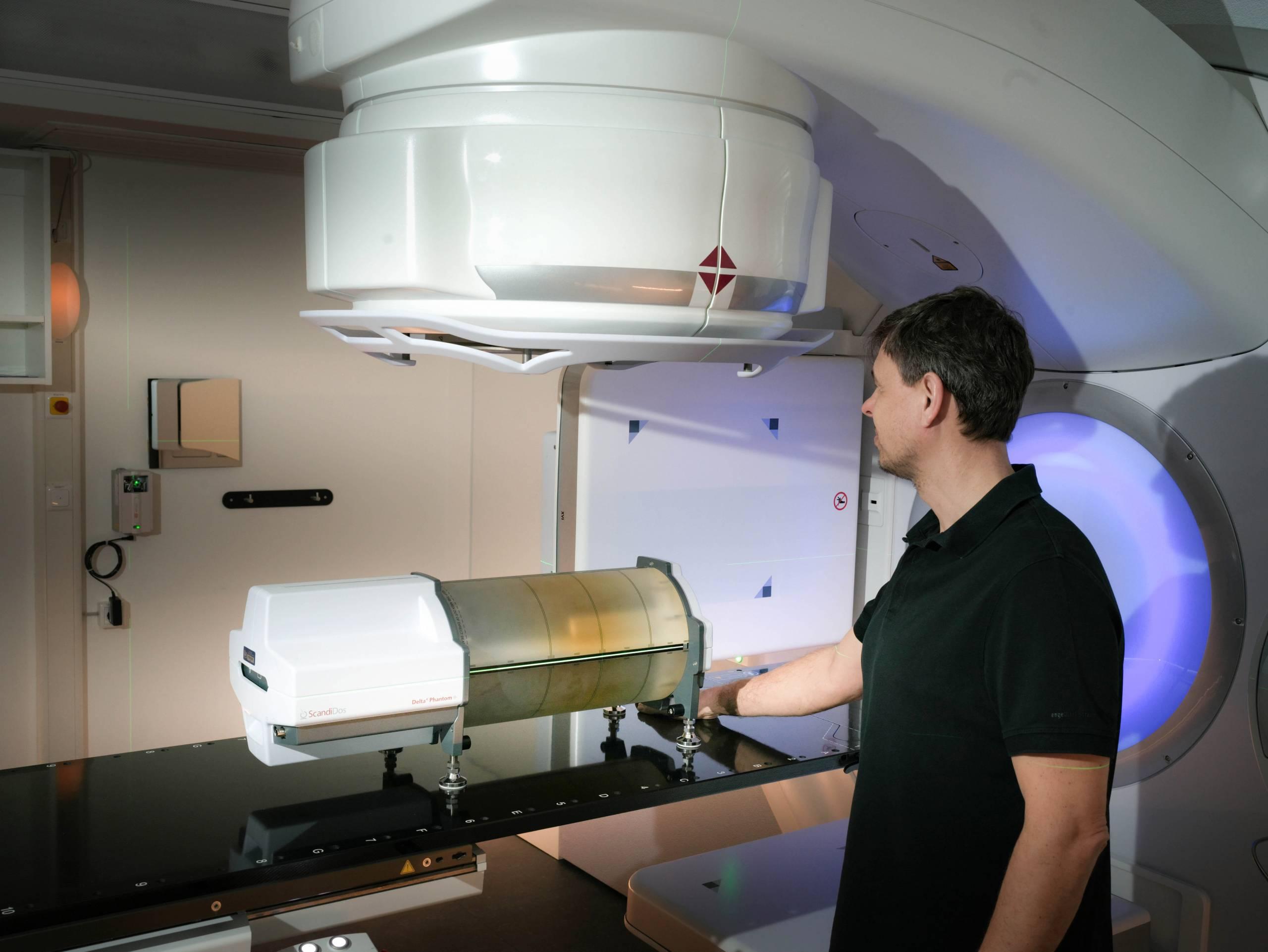 Verifikation des Bestrahlungsplanes